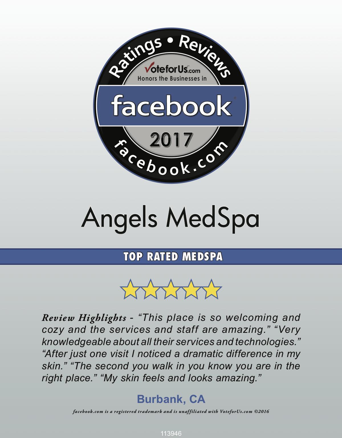 Top Rated MedSpa 2017
